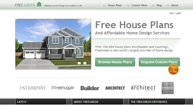 Free House Plans Great Canadian Miser