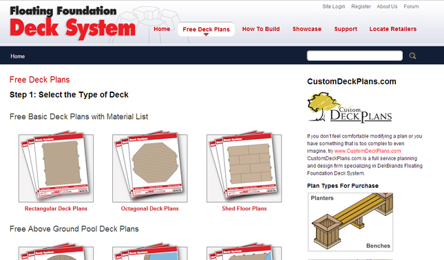 Free Deck Plans Great Canadian Miser